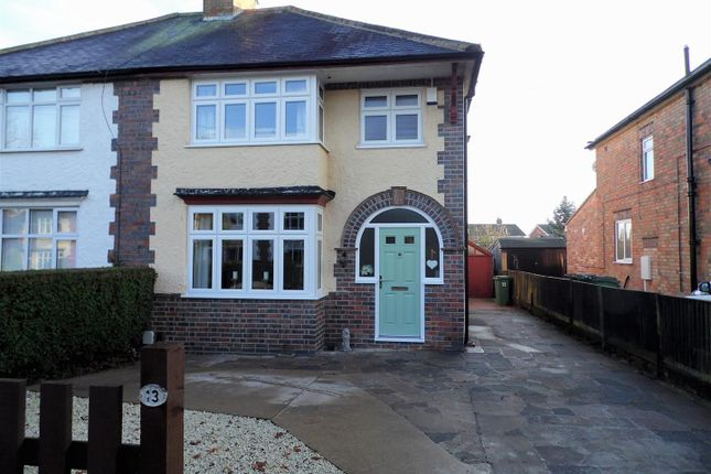 Thumbnail Semi-detached house for sale in Westfield Avenue, Countesthorpe, Leicester