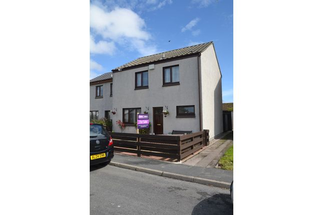 Thumbnail Terraced house for sale in Muirfield Drive, Brora