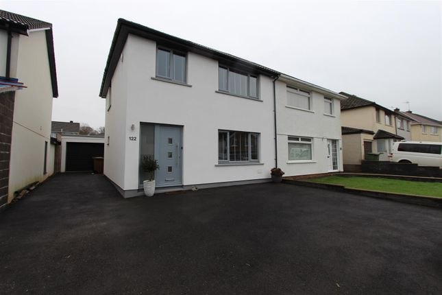 Thumbnail Semi-detached house for sale in Porset Drive, Caerphilly