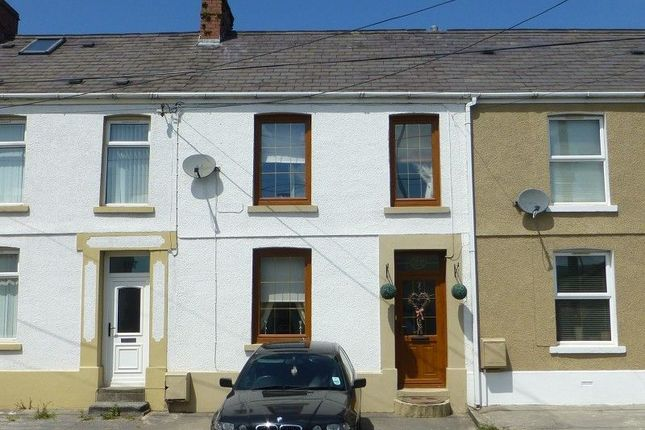 Thumbnail Terraced house to rent in Penybanc Road, Ammanford, Carmarthenshire.