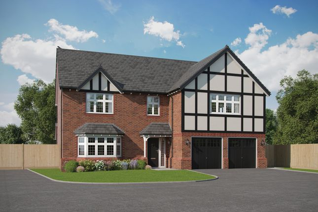 Thumbnail Detached house for sale in Wildings Croft, Fountain Lane, Davenham, Northwich