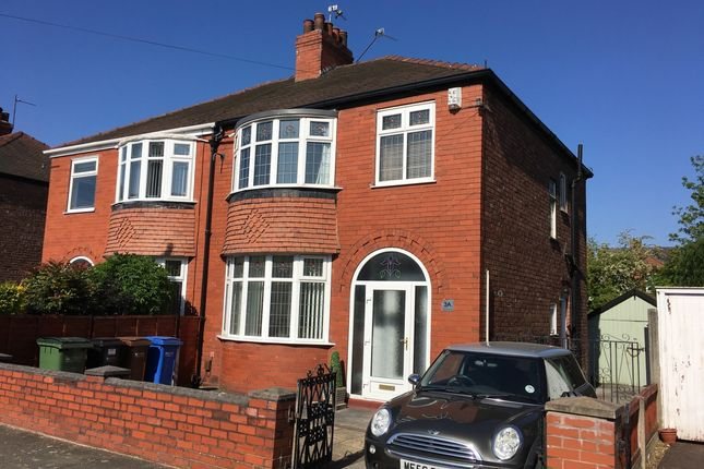 Thumbnail Semi-detached house to rent in Bonis Crescent, Stockport