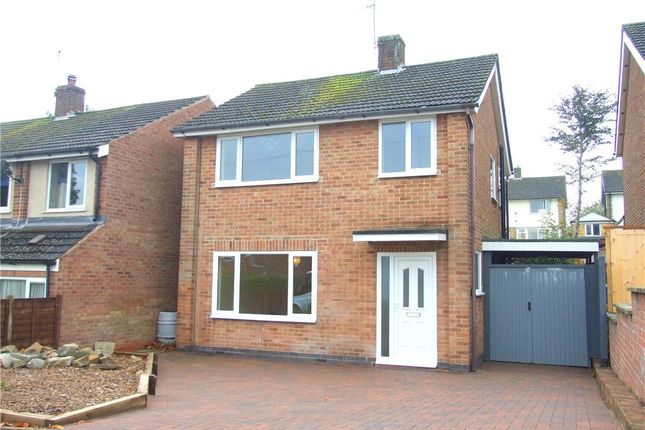 Thumbnail Detached house for sale in Charlestown Drive, Allestree, Derby