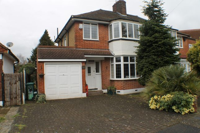 Thumbnail Semi-detached house to rent in Mottingham Gardens, London