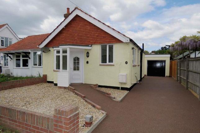 Thumbnail Semi-detached bungalow for sale in North Crescent, Hayling Island