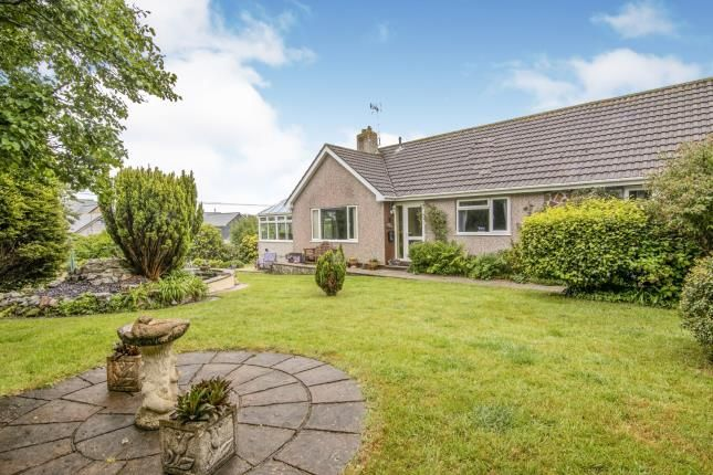 Thumbnail Bungalow for sale in Trethurgy, St. Austell, Cornwall