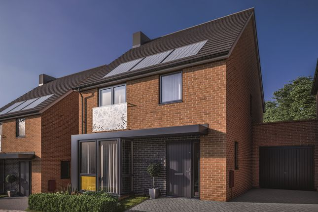 Thumbnail Link-detached house for sale in Oakhill Drive, Marksbury, Bristol