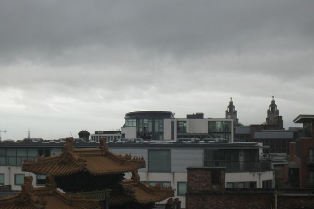 View From Living of Arch View Crescent, Liverpool L1