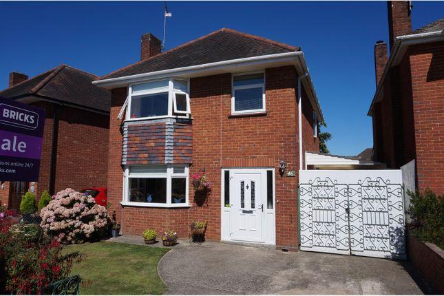 Thumbnail Detached house for sale in Rushington Avenue, Totton, Southampton
