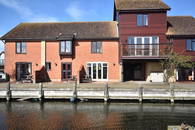 Thumbnail Town house for sale in Ferry Marina, Horning