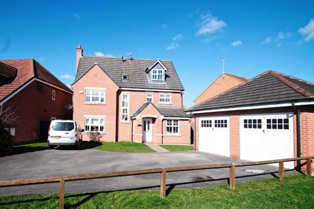 Thumbnail Detached house for sale in Rosyth Crescent, Chellaston