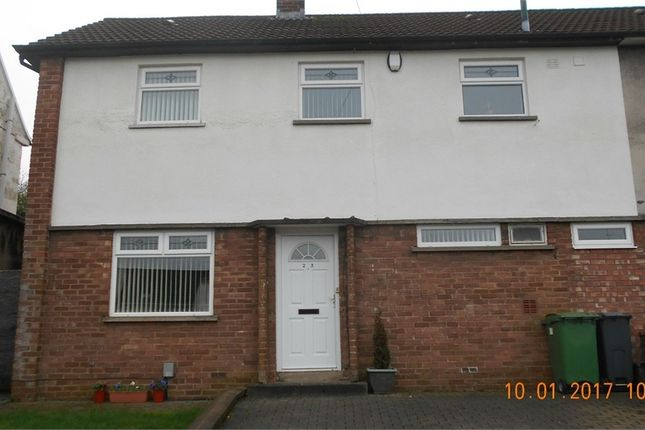 Thumbnail Semi-detached house to rent in Heol Carnau, Ely, Cardiff