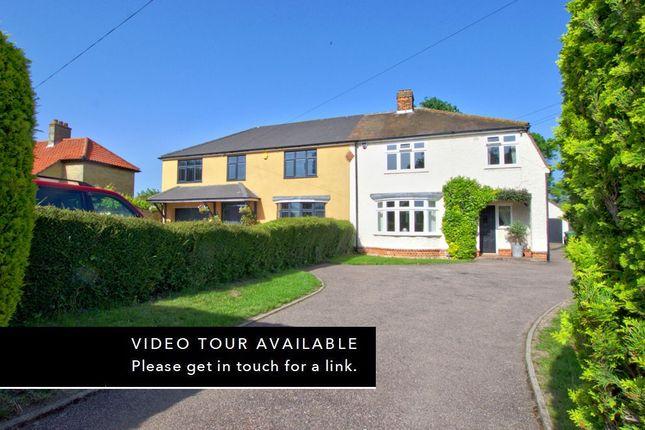 Thumbnail Semi-detached house for sale in Cambridge Road, Sawston, Cambridge