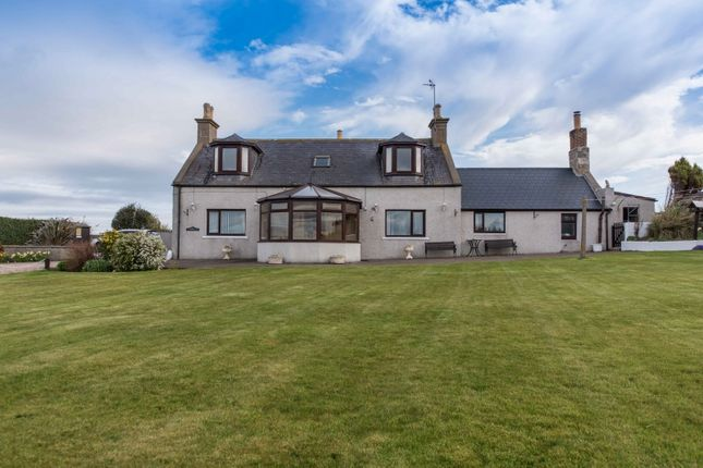 Thumbnail Detached house for sale in Sandend, Portsoy, Banff, Aberdeenshire
