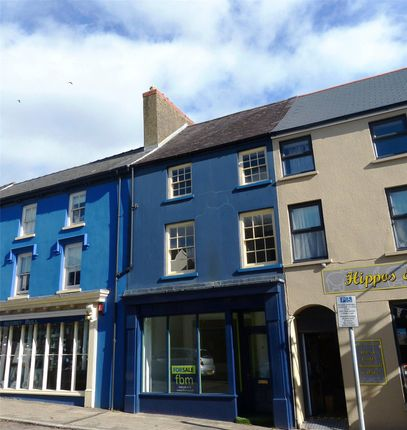 Town house for sale in Retail Shop, High Street, Narberth, Pembrokeshire