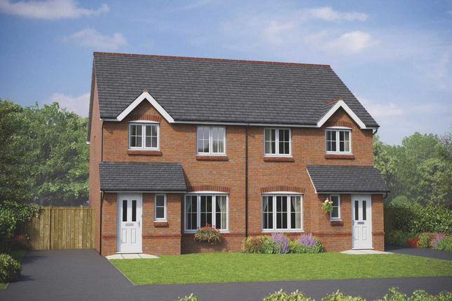 Thumbnail Mews house for sale in Cheshire Street, Audlem, Crewe