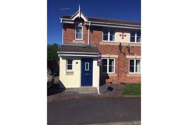 Thumbnail Semi-detached house for sale in Woodbridge Close, Heanor