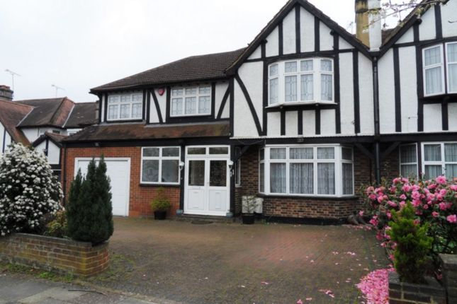 Thumbnail Semi-detached house to rent in Oakleigh Gardens, Edgware
