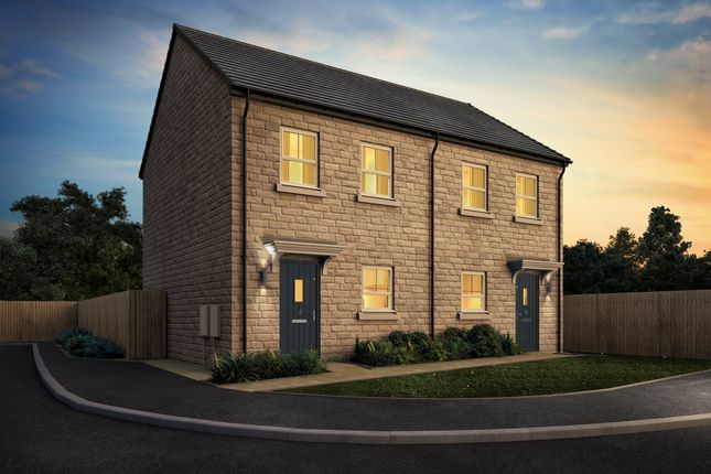 Thumbnail Semi-detached house for sale in New Lane, Cleckheaton