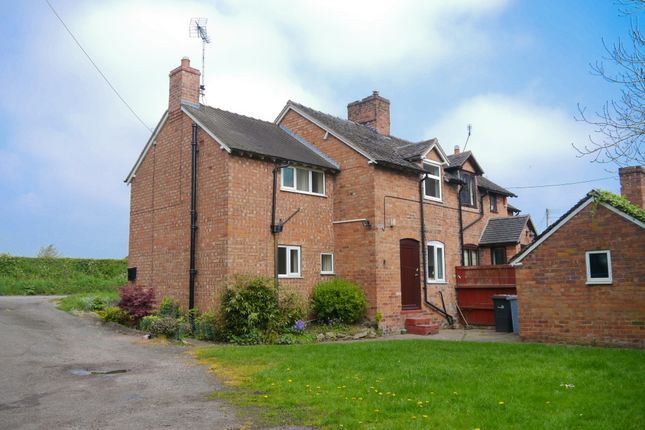 Thumbnail Property to rent in Swanley Bridge Cottage, Springe Lane, Nantwich