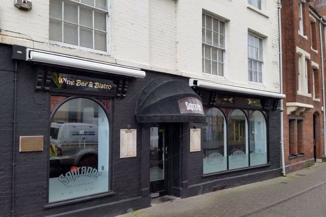 Retail premises to let in St Owen Street, Hereford, Herefordshire