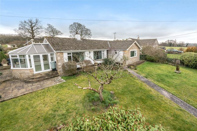 Thumbnail Detached bungalow for sale in Uplands Close, Limpley Stoke, Bath, Wiltshire