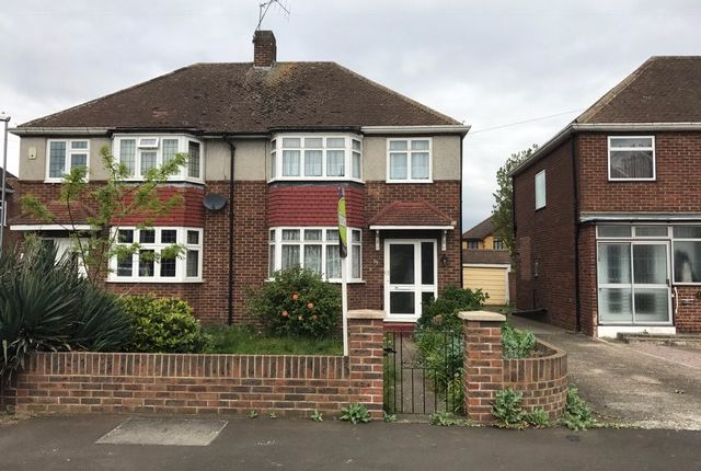 Thumbnail Semi-detached house to rent in Harvest Road, Feltham