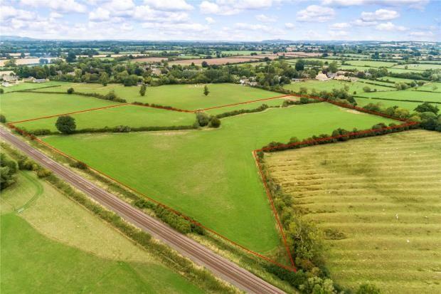 Thumbnail Land for sale in Evenlode, Moreton-In-Marsh