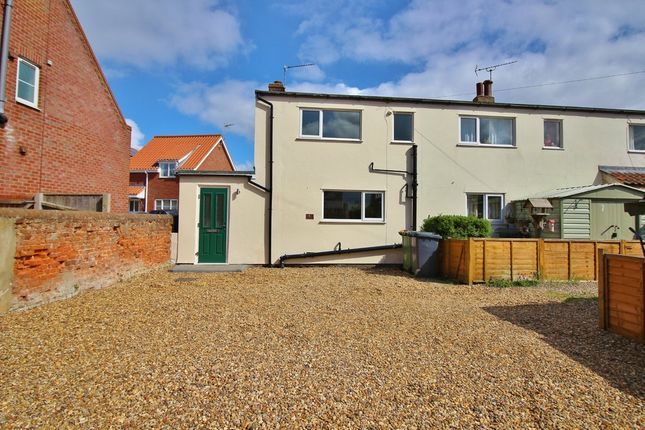 Thumbnail End terrace house for sale in Sutton Terrace, Stalham, Norwich
