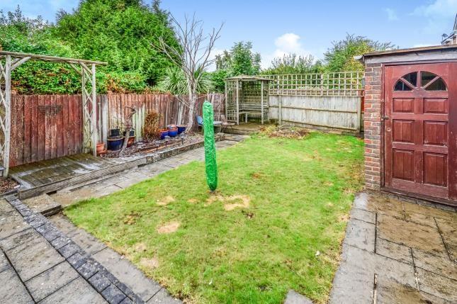 Garden of Westbury Road, Southampton SO15