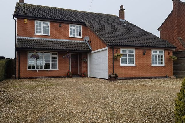 Thumbnail Detached house to rent in Croft Road, Thurlaston, Leicester