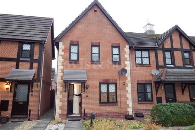 Thumbnail End terrace house to rent in Penhow Mews, St. Brides Wentlooge, Newport