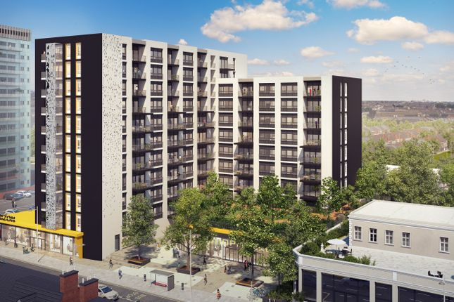 Thumbnail Flat for sale in Horizon Tower, 51-59 High Road., Ilford