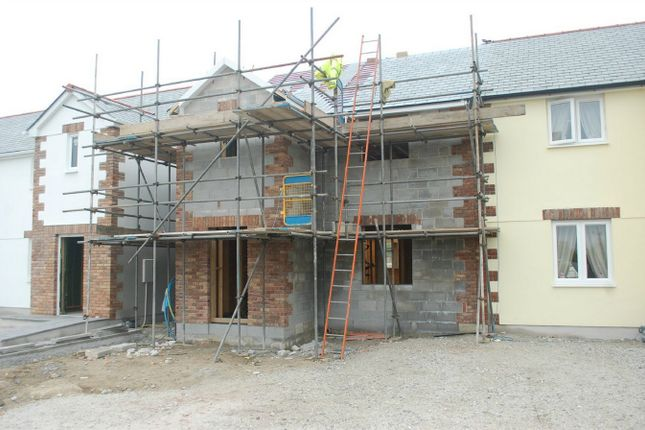 Thumbnail Semi-detached house for sale in Plot 6A Wheal Rose, Roche Road, Bugle, Cornwall