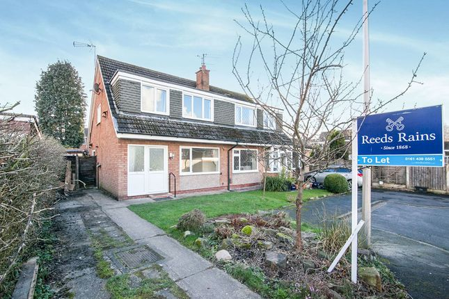 3 bed semi-detached house to rent in Fairhaven Close, Bramhall, Stockport