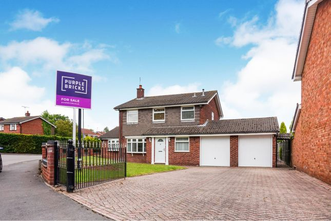 Thumbnail Detached house for sale in Chatsworth Drive, Nuneaton