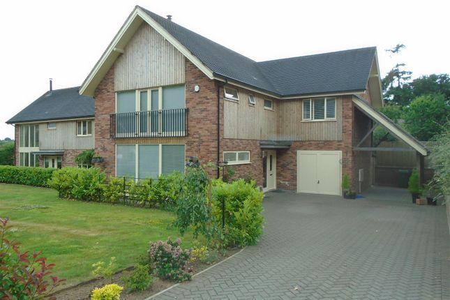 Thumbnail Detached house for sale in Lower Road, Harmer Hill, Shrewsbury