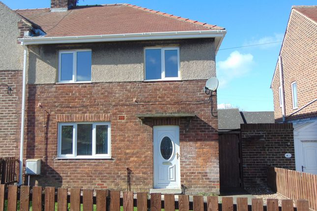 Thumbnail Semi-detached house to rent in Springwell Avenue, Langley Park, Durham