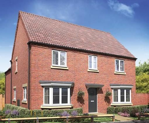 "Thumbnail Detached house for sale in ""The Forge"" at Ashton Road, Roade, Northampton"