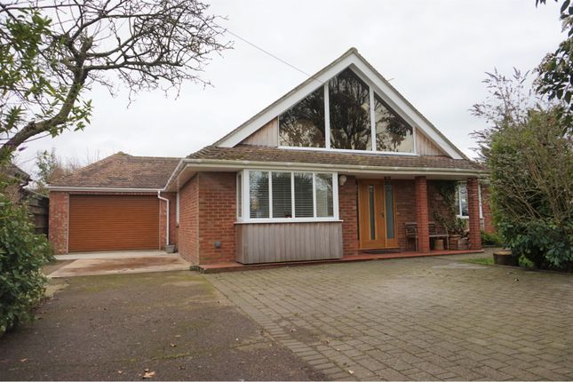 Thumbnail Detached bungalow for sale in Ringsfield Road, Beccles