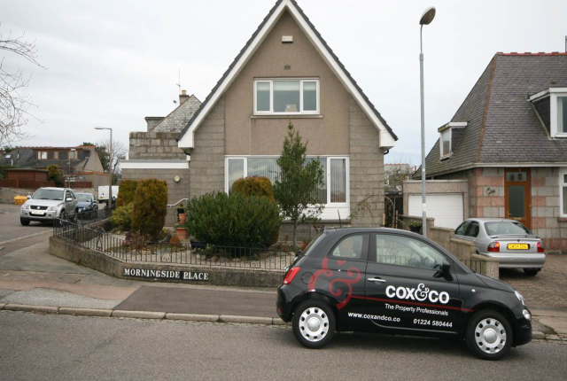 Thumbnail Property to rent in Morningside Terrace, Aberdeen
