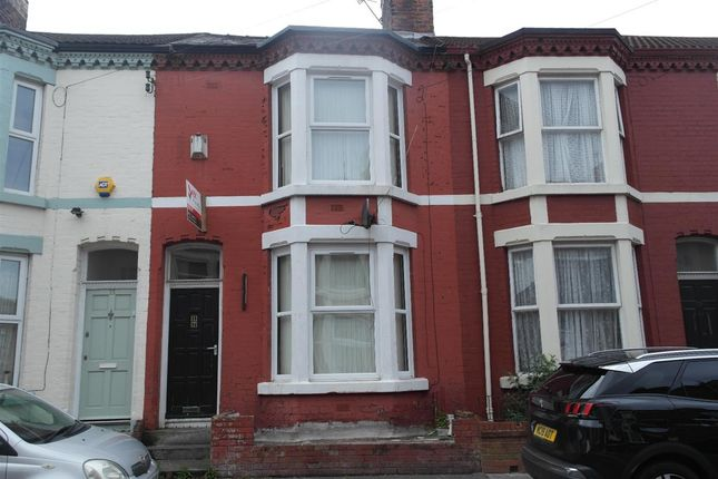 Thumbnail Terraced house to rent in St. Davids Road, Anfield, Liverpool