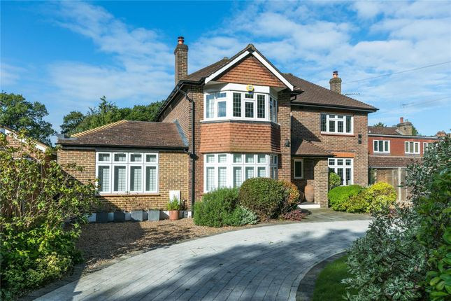 Thumbnail Detached house for sale in Oxshott Road, Leatherhead, Surrey