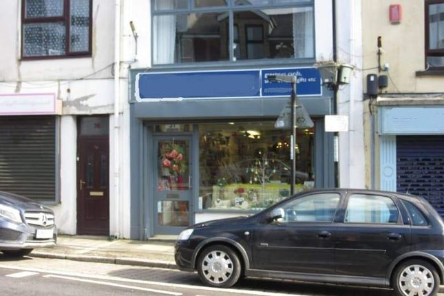 Thumbnail Retail premises for sale in Castle Street, Tredegar