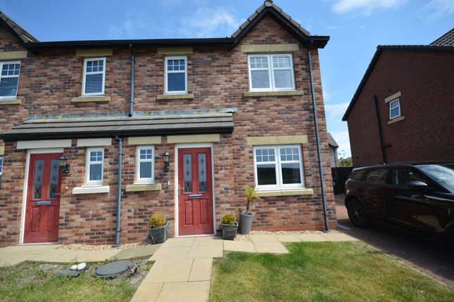 Thumbnail Semi-detached house for sale in Woodville Way, Whitehaven, Cumbria