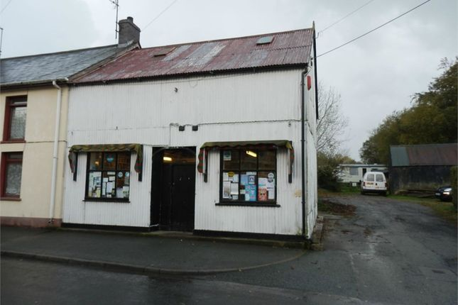 Thumbnail Commercial property for sale in Parc Y Pant General Stores, Cross Inn, New Quay