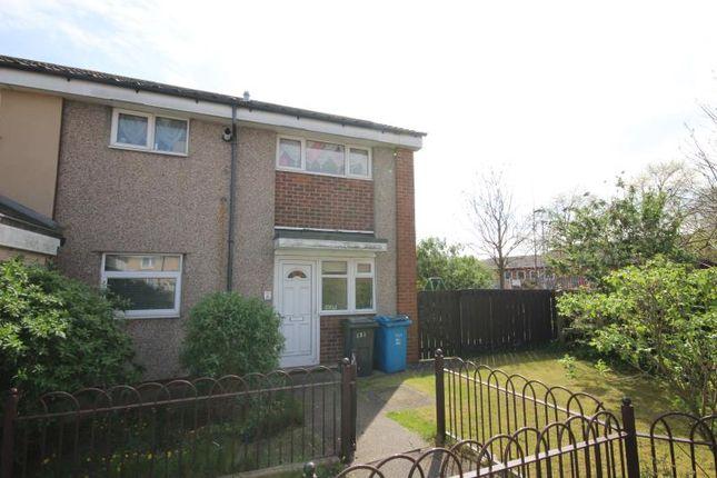 Thumbnail End terrace house to rent in Oakington Garth, Bransholme, Hull