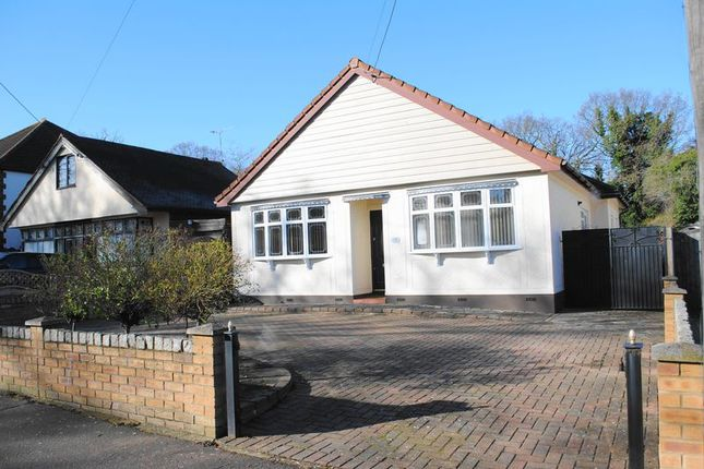 Thumbnail Detached bungalow for sale in Glenwood Avenue, Leigh On Sea, Essex