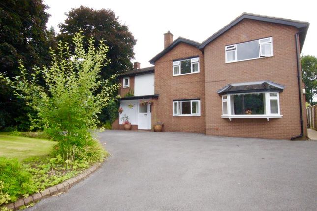 Thumbnail Detached house for sale in Wynnstay Lane, Marford, Wrexham