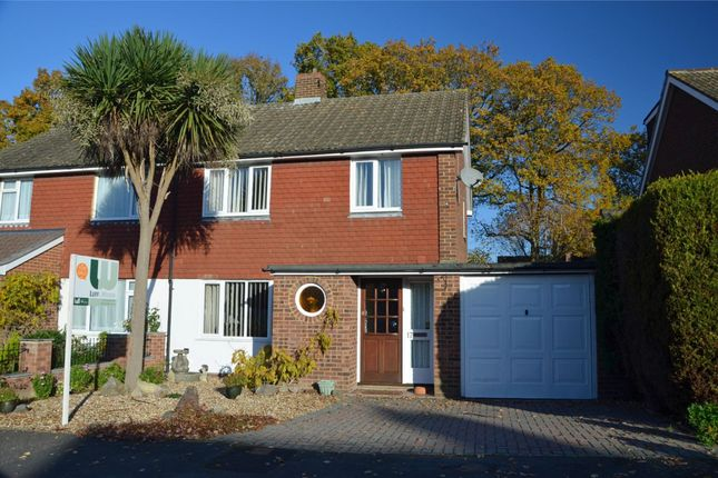 Thumbnail Semi-detached house for sale in Hazel Road, Mytchett, Surrey